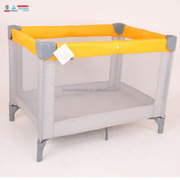 cheap hot sale nfant cot playpen, multifunction infant baby bed,cheap colorful folding baby crib
