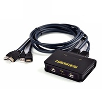 2 Ports Built In Cable HDMI