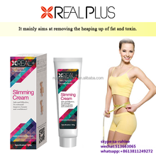 Body fat burning slimming massage oil REAL PLUS botanical slimming soft gel/cream
