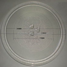 28.4cm 3flowers microwave oven parts, glass plate, microwave oven glass tray