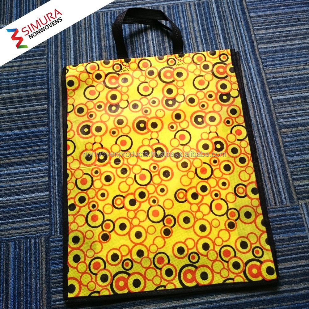 Bangladesh Bag with Colorful Fabric