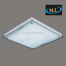 60w glass lens led ceiling light lamp fixture factory supply