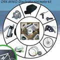 Hot & New! High quality ORK-MINID 250W Disc Brake motor conversion kit for mountain bike