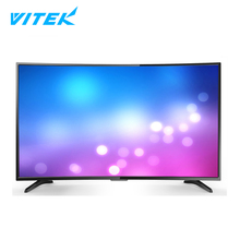 "Cheapest 55 inch curved smart tv, Buy bulk electronics 55"" led tv television smart 4k, 2017 hot new products wifi 55 4k smart tv"