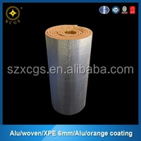 Flooring Roof Carpet Underlay Moisture-proof Aluminium Foil With Bubble EPE Foam Insulation For Barns