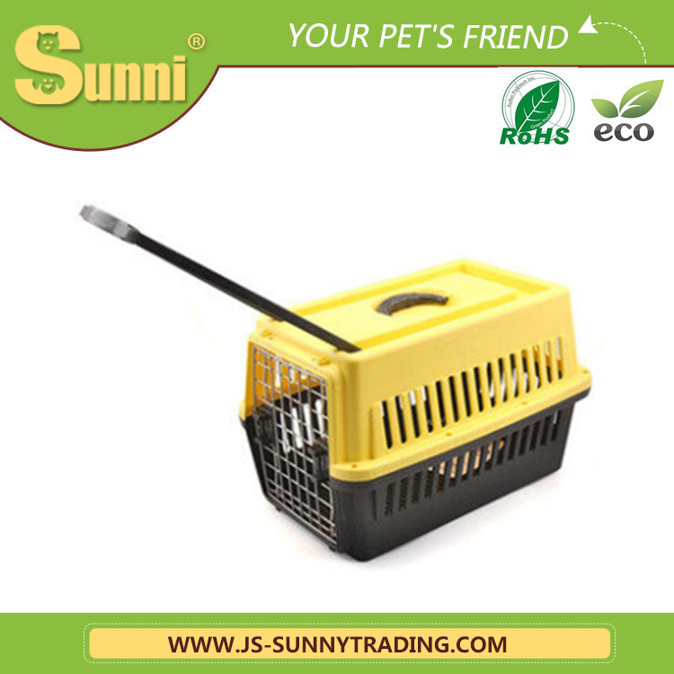 Wholesale trolley pet carrier with wheels