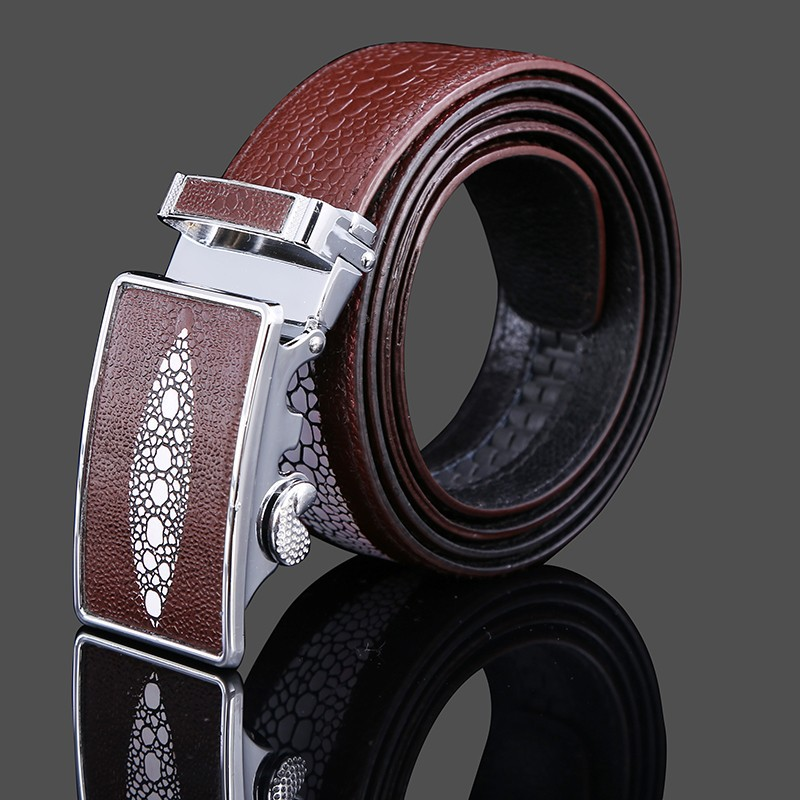 2015 New Fashion Designer Mens True Leather Belts