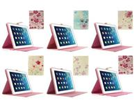 Pretty Fuchsia Floret Protective Smart Stand Leather Case for iPad 2 3 4