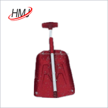 Telescopic aluminum car snow shovel