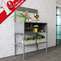 Garden Metal Flower Pot Stand Cabinet Decorations Iron Shelf For Plants China Manufacturer
