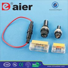 Daier 10A 250VAC auto fuse holder socket