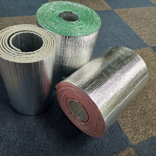 Reflective XPE Foam Foil Roofing Insulation/Fireproof Aluminium Foil Foam Insulation/Foil Backed Foam Insulation Roll