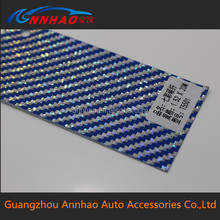 PVC material and colorful carbon fiber Vinyl for Car Wrap with size1.52*30m