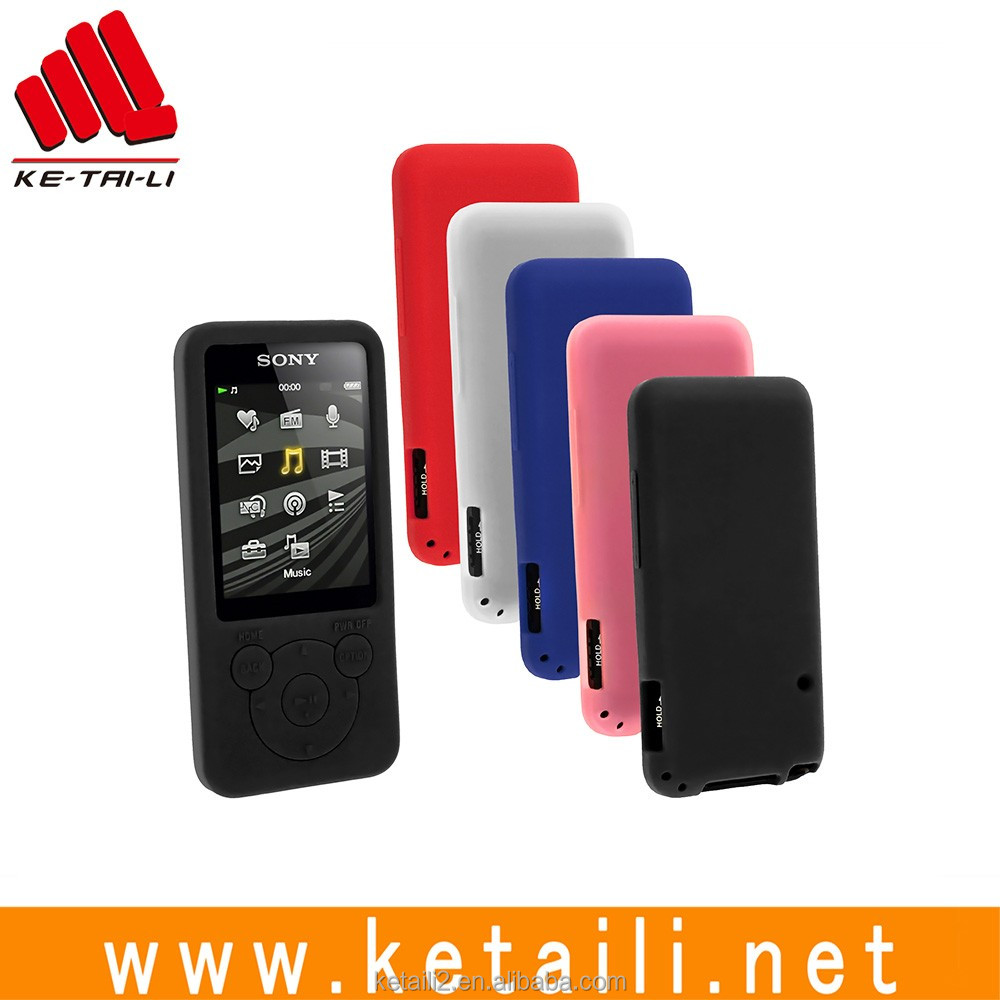 customized silicone mp3 player covers
