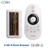 High quality smart phone control led strip controller Wireless 2.4G 144w RF DC 12V Dimmer