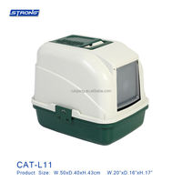 cat toilet CAT-L11 (Litter Box with Basket)