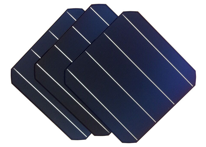 wholesale 156x156 high efficiency A grade 4BB monocrystalline solar cell made in Taiwan