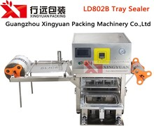 Customized Desktop replaceable mould automatic tray sealing machine/cups sealer machine
