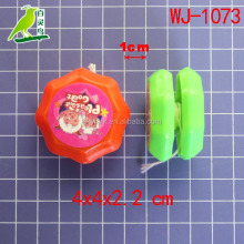 cartoon design promotional toys for children cheap sticky plastic toy yoyo