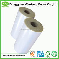 Virgin PE HDPE plastic film for CAM cutting in garment factory