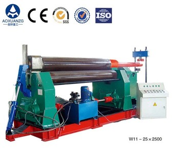 Quality industrial steel plate rolling machine for sale