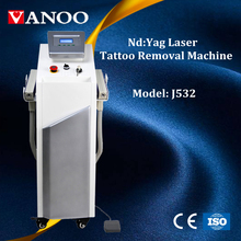 2017 hot beauty machine! Factory price nd:yag laser tatto removal machine with 1064&532nm pigment remove laser