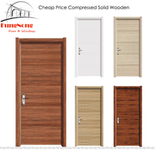 FD0032-Chinese Factory Custom Cheap Price Super Design MDF Compressed Apartment Interior Solid Panel Wooden Doors