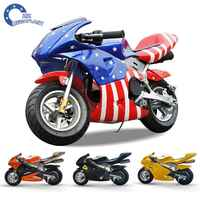 Factory price mini moto pocket bike 49cc