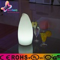 Customsize shape color changing decoration cordless led table lamp