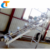 Chain and belt conveyor machine with bucket