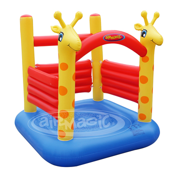 aiR MaGic-8304 Giraffe Jumpig Castle,Small Castle,PVC inflatable bouncer
