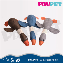 New product 1 squeaker plush toy with sound stuffed duck toys for dog