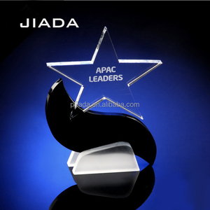business gift wholesale souvenirs trophy custom crystal star trophy