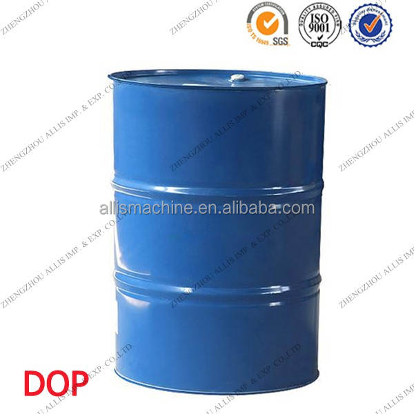 Industrial Grade Colorless Oily Liquid Plasticizer DOP in 200kg Iron Drum