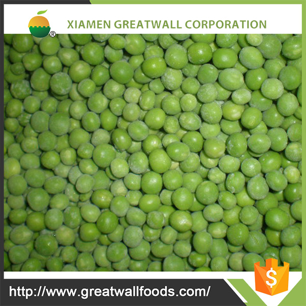 HACCP frozen whole green peas from China supplier
