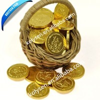 Chocolate Coins Pressing Sealing Wrapping foil