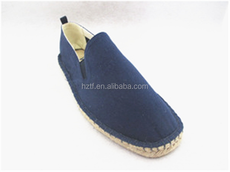 Wholesale Factory hemp canvas shoe for men