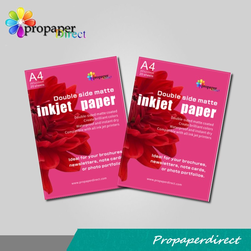 inkjet 300gsm double side matte photo paper