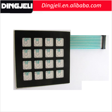 High Quality Front Panel Overlays UV Keyboard 4x4 Matrix Keypad