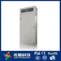 Direct expansion type fresh air handling unit with plug fan