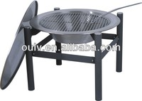 outdoor stainless steel fire pit,bbq brazier fire pit,garden treasures fire pit