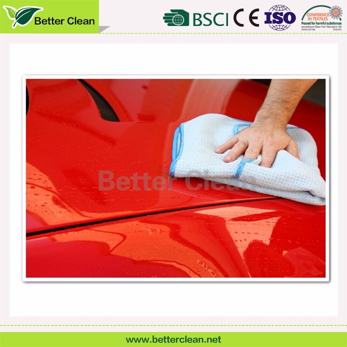2016 Factory Direct Sale Microfiber custom size cleaning cloths car