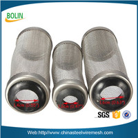 Alibaba China 12 mm Guard Net Shrimp Safe Protect Basket Mesh Stainless Steel Flow Fish Filter