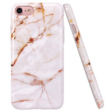 C&T Marble Pattern Design Case Ultra Slim Shockproof Bumper TPU Soft Case Rubber Silicone Skin Cover for iphone 7