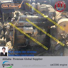 used cat3306 engine with gearbox original USA