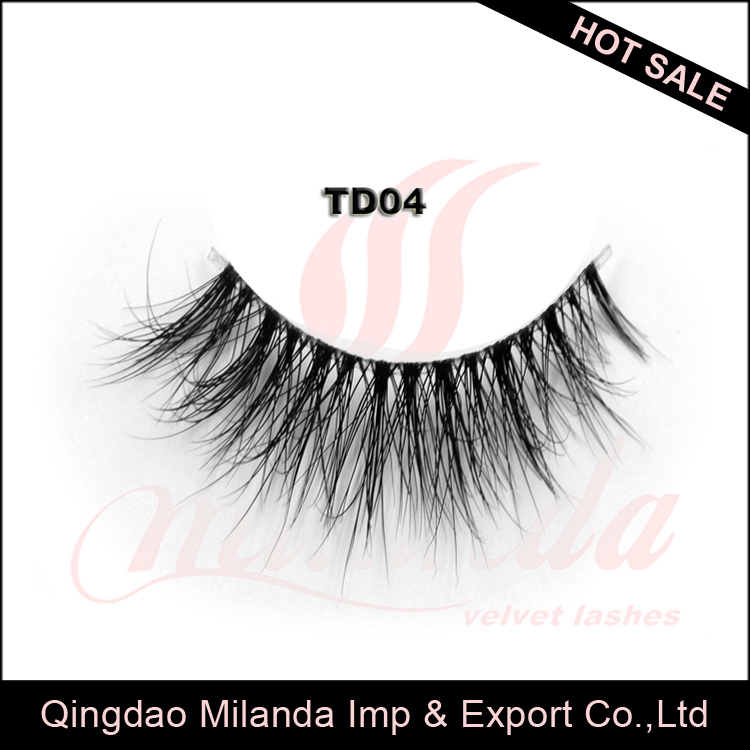 Packaging designs for invisible elastic thread mink eyelash extension