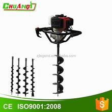Portable 71cc auger soil drilling machine post hole auger drill