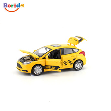 kid toy mini rc die cast car with 4 open doors
