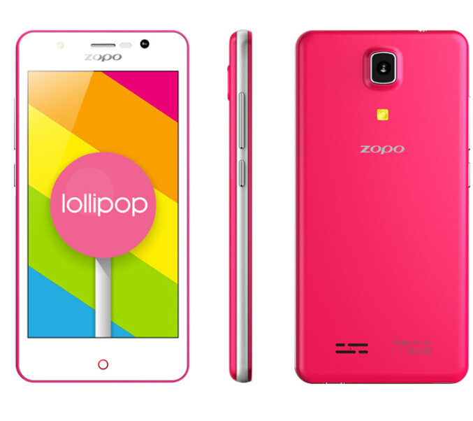 "Original ZOPO Color C ZP330 4G FDD LTE Mobile Phone Android 5.1 1G RAM 8G ROM MTK6735 Quad Core 4.5"" 5MP GPS OTG Dual SIM"