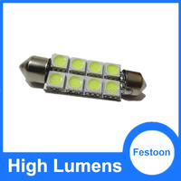 Automobile&motorcycle led light dome bulb 42mm led festoon lamp, 5050 reading auto lighting system 12v festoon led light bulbs